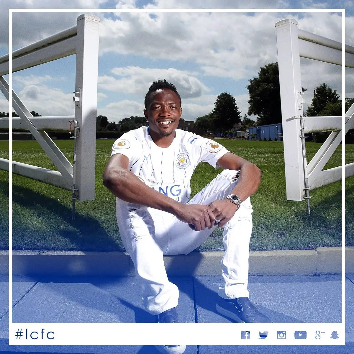 "Iwobi Backs ""Fast"" Musa To Shine For Leicester"