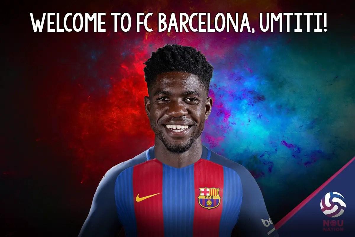 Barcelona Slam €60m Release Clause On €25m Umtiti