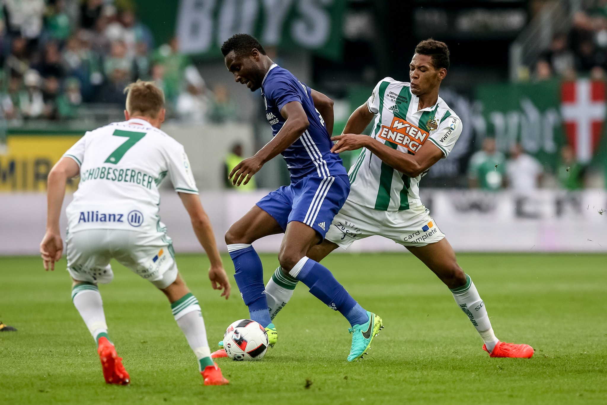Moses Shines, Mikel Struggles As Conte Loses Chelsea Debut