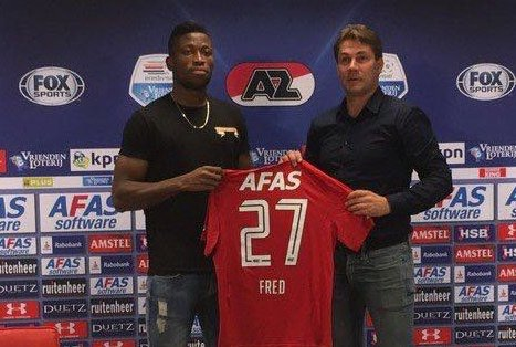 Nigerian Striker FredFridayJoins AZ Alkmaar
