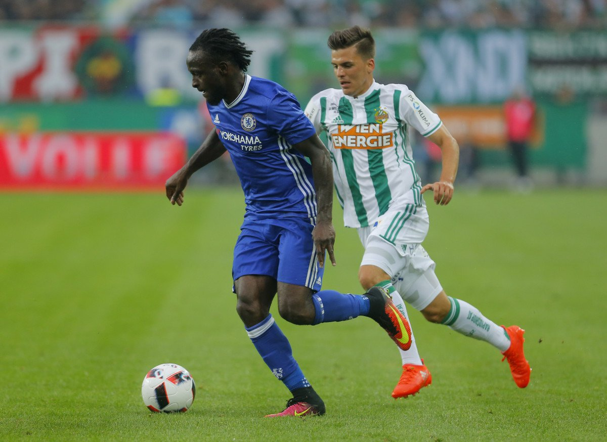 Moses Relishes Chelsea's Performance Vs Pellets