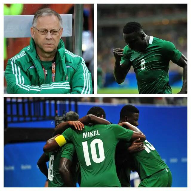 Lagerback Warns Sweden Against Nigeria, Etebo