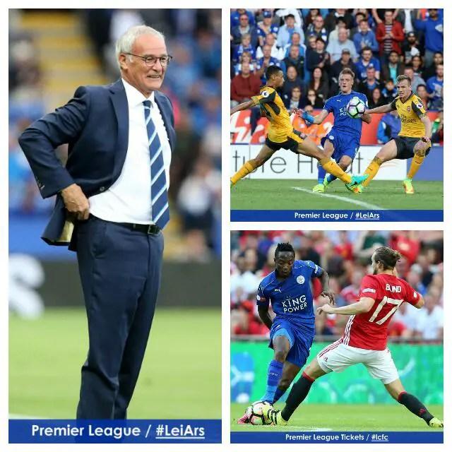 Ranieri Backs Musa, Vardy Strike Partnership For Leicester