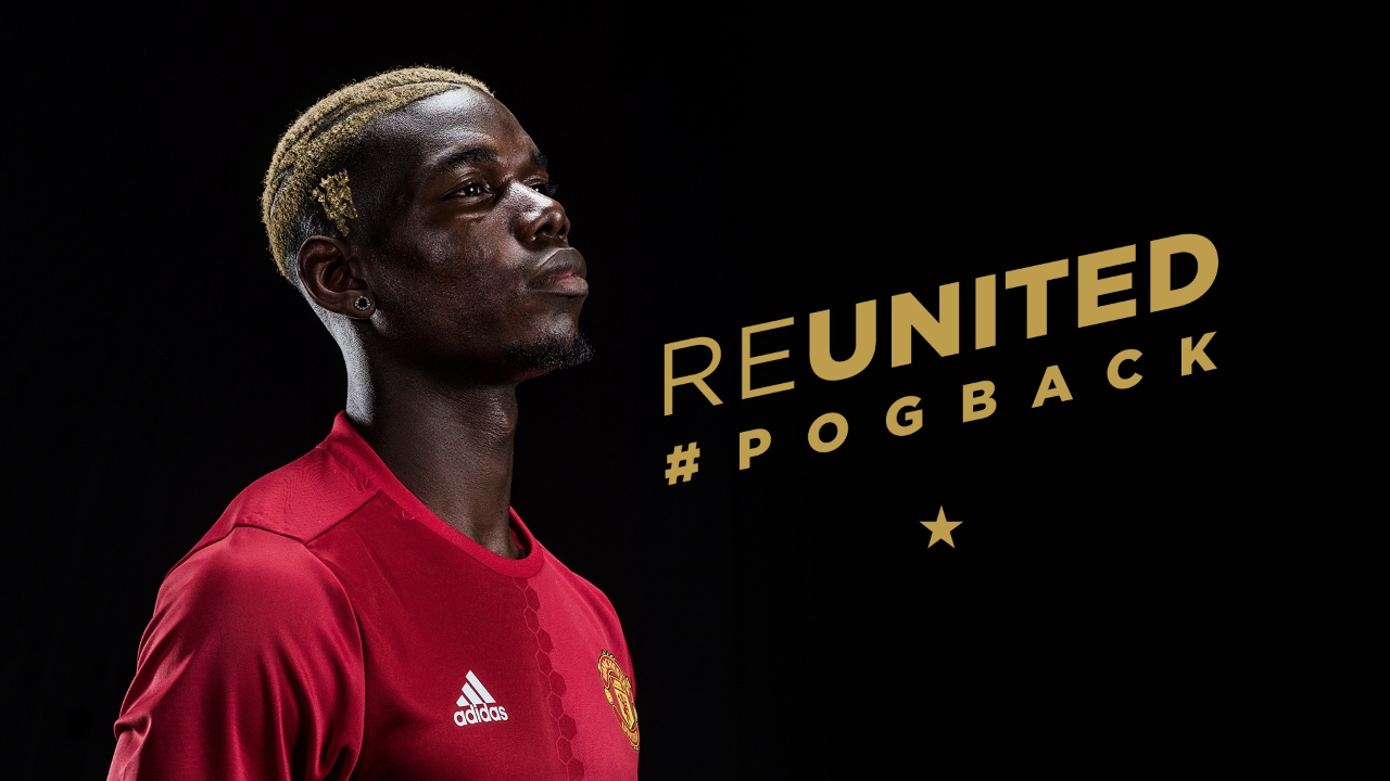 """Pogba """"Delighted"""" After Sealing Man United Return"""