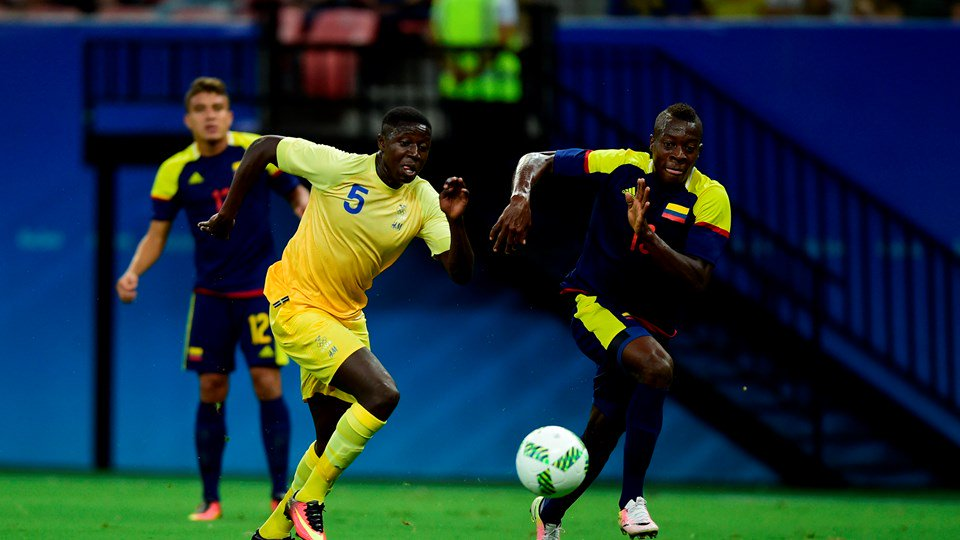 Nigeria's Group Rivals Colombia, Sweden Share Points