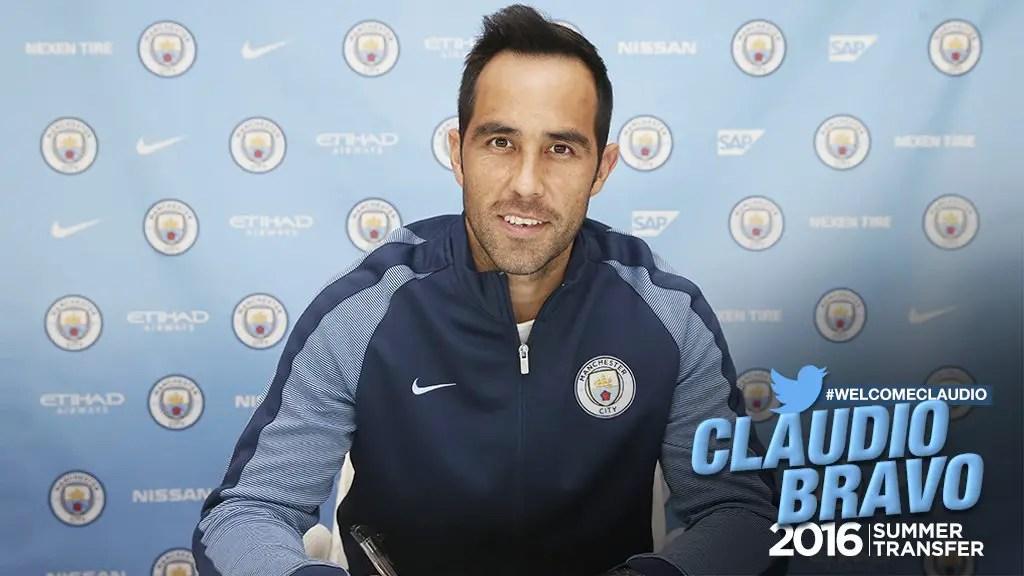 Man City Confirm Bravo Signing