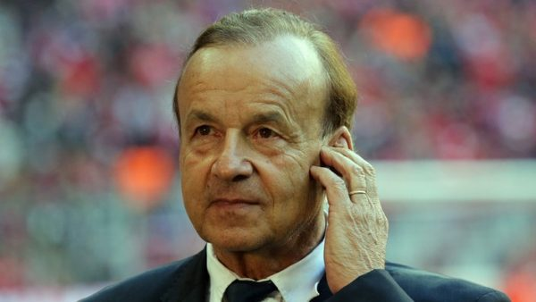 Rohr Promises To Qualify Super Eagles For 2018 World Cup