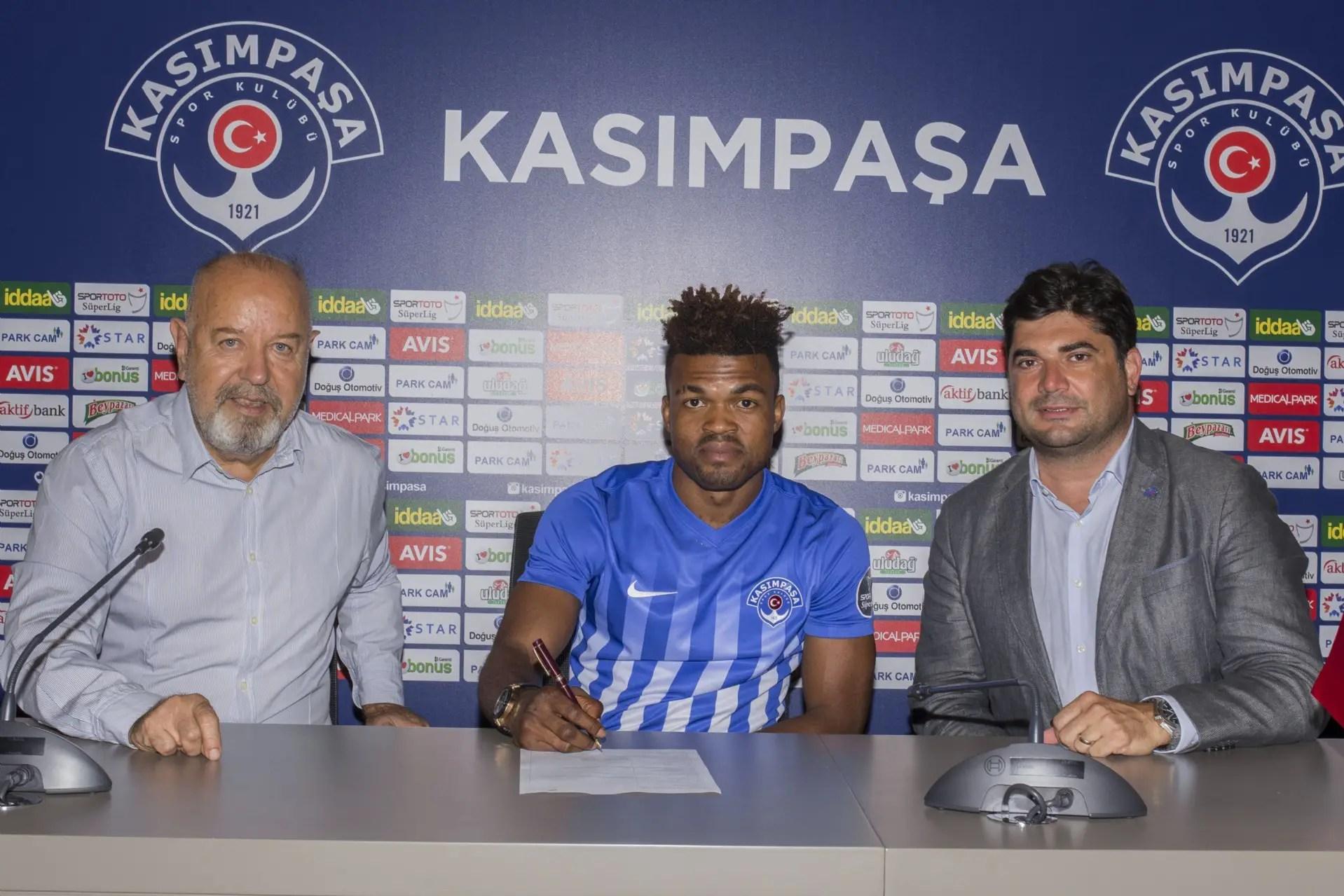 Kasimpasa Sign Eduok On Loan From Esperance