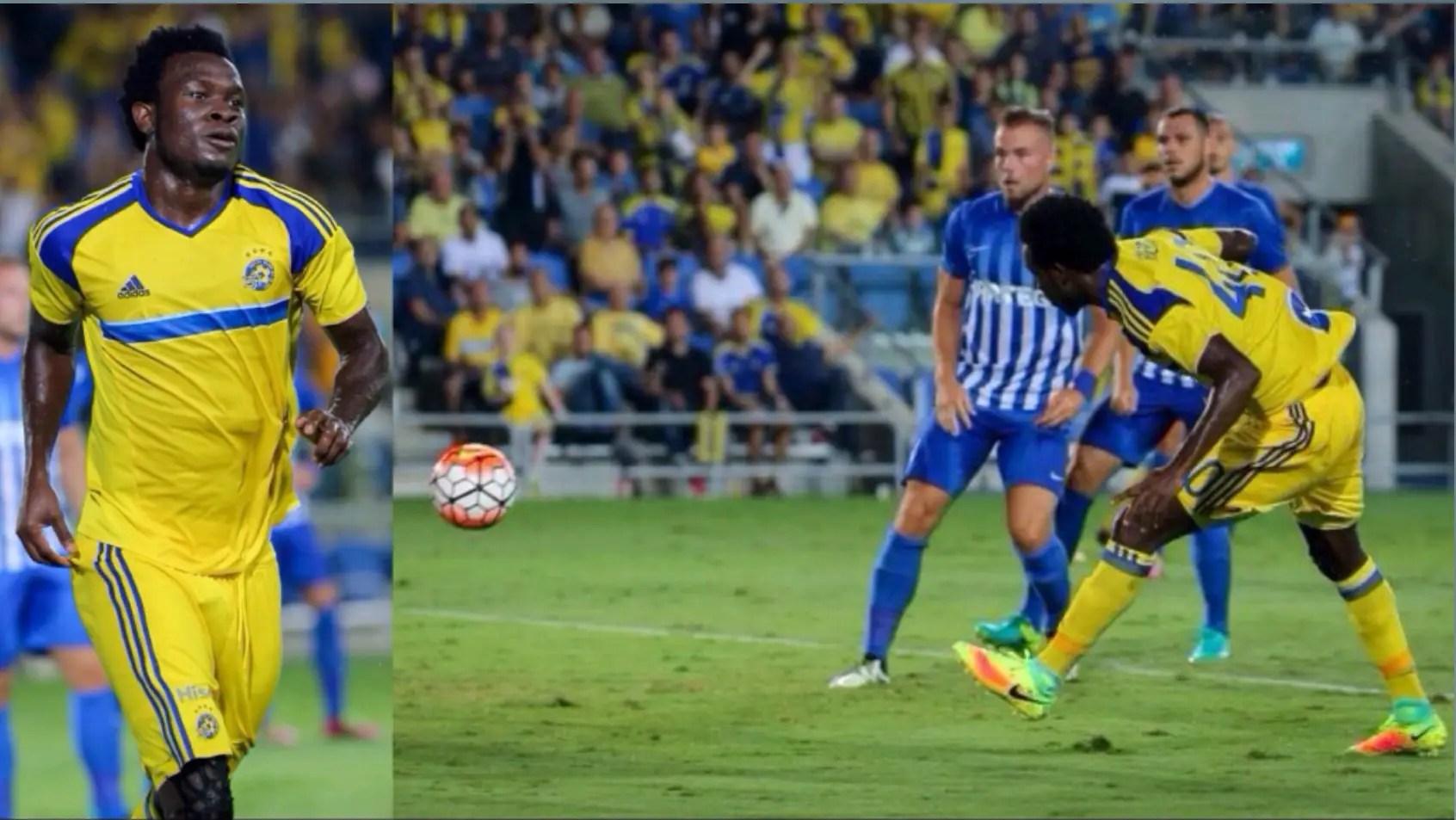 Europa League: Igiebor Scores, Progresses With Tel Aviv; Enyeama Crashes Out