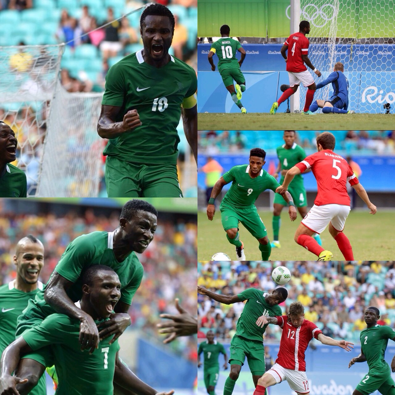 Q/Final Report Card: How Olympic Eagles Rated Vs  Denmark