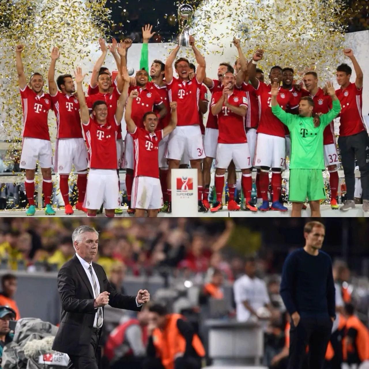 Bayern Munich Beat Dortmund, Claim 5th German Super Cup Title