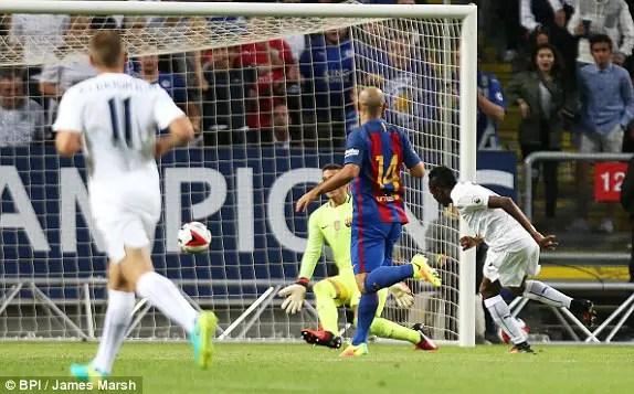 Musa: I'm Happy To Score Twice Against Barcelona
