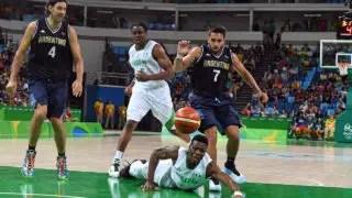 Rio 2016 Basketball: Argentina Beat Nigeria's D'Tigers