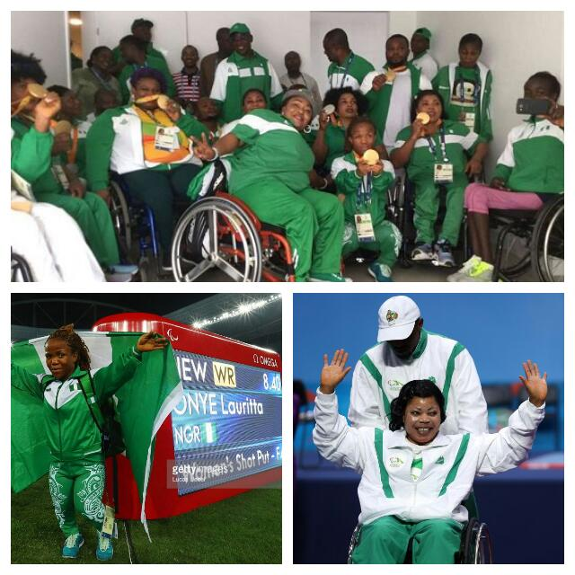 Rio Nigeria's Best Paralympics Ever, Team Top African Medal Table