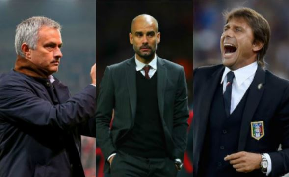 Guardiola, Mourinho, Conte, Sterling, Hazard Nominated For EPL August Awards