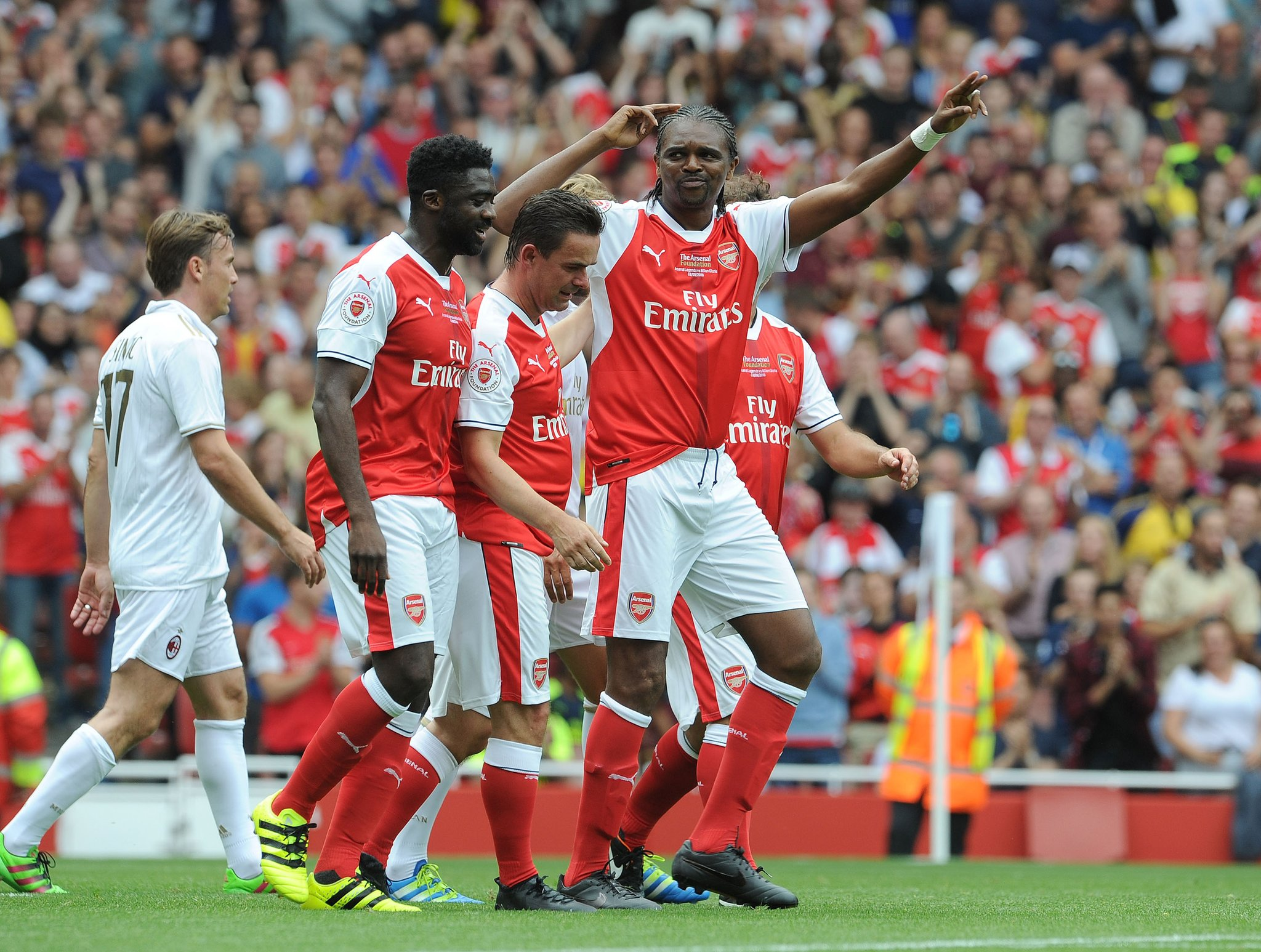 Wenger Praises Kanu, Ikpeba, Toure For Impact On His Career