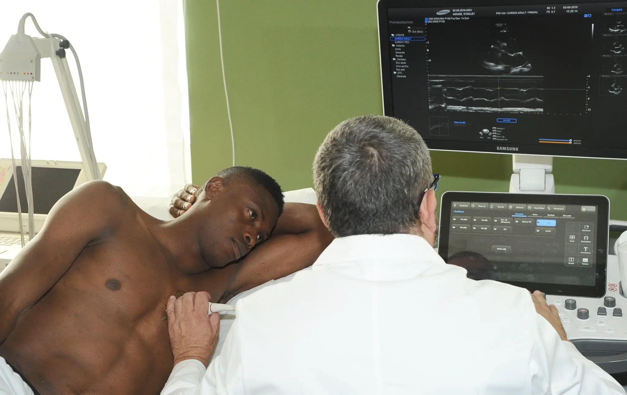 Amuzie Joins Sampdoria In Training After Passing Medicals