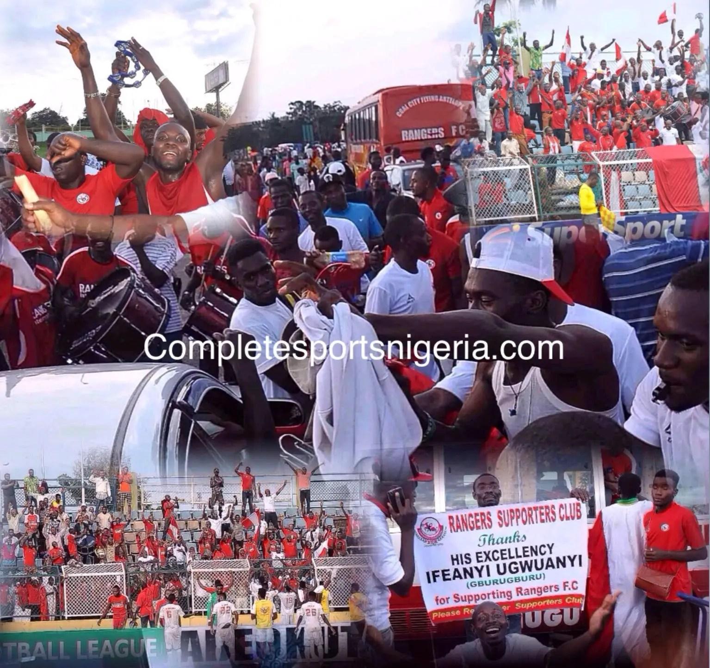 Onitsha Traders Storm EnuguTo Welcome Rangers' League Trophy