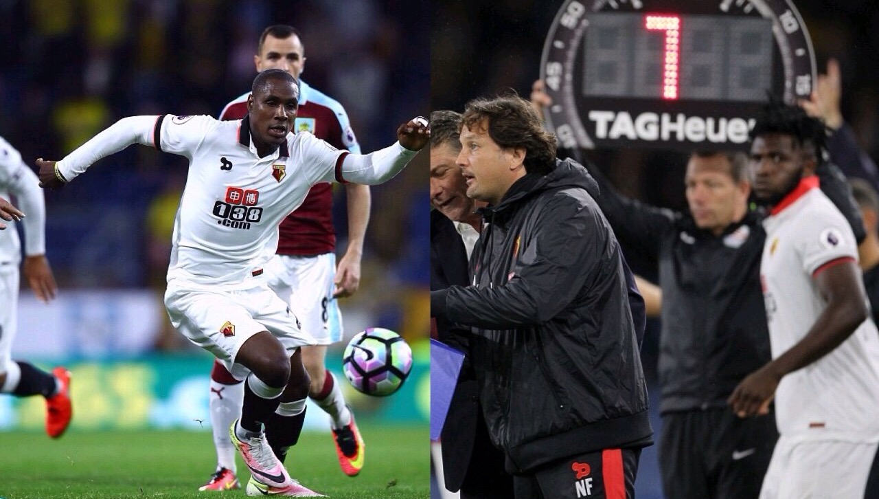 Ighalo, Success Can't Save Watford From Burnley Defeat
