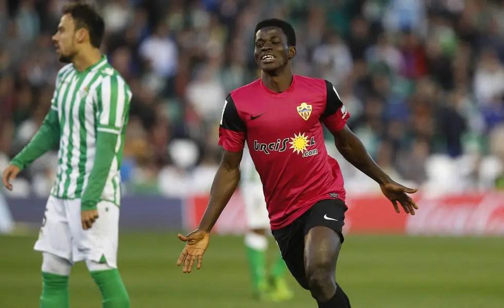 Almeria Offer Ramon Azeez New Two-Year Deal