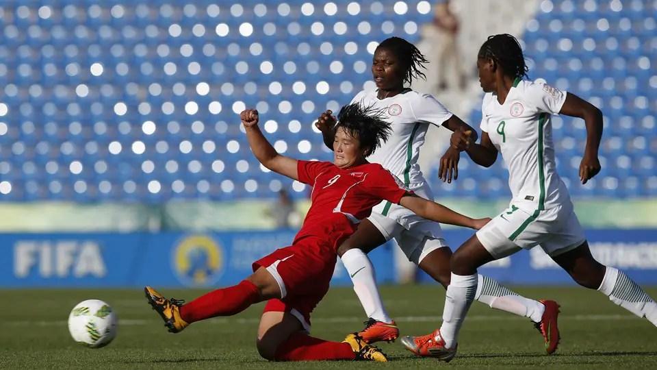 Flamingoes Fall To N/Korea, Crash Out Of U-17 Women's World Cup