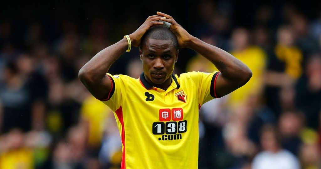 Ighalo Extends Goal Drought To 10 Games, Anichebe Starts; Success, Musa Play As Subs