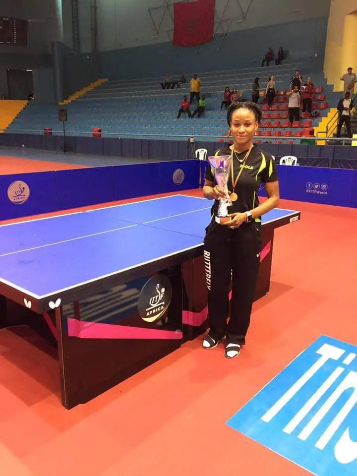 Oshonaike Wins African Table Tennis Title As Quadri Loses Final