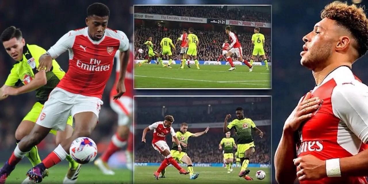 Iwobi, Ejaria Shine As Arsenal, Liverpool Win To Progress in EFL Cup
