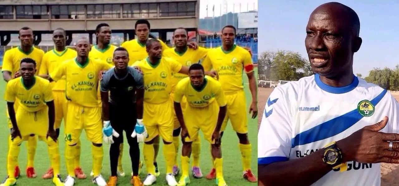 El-Kanemi Coach, Bosso: We're In Enugu To Defeat Rangers