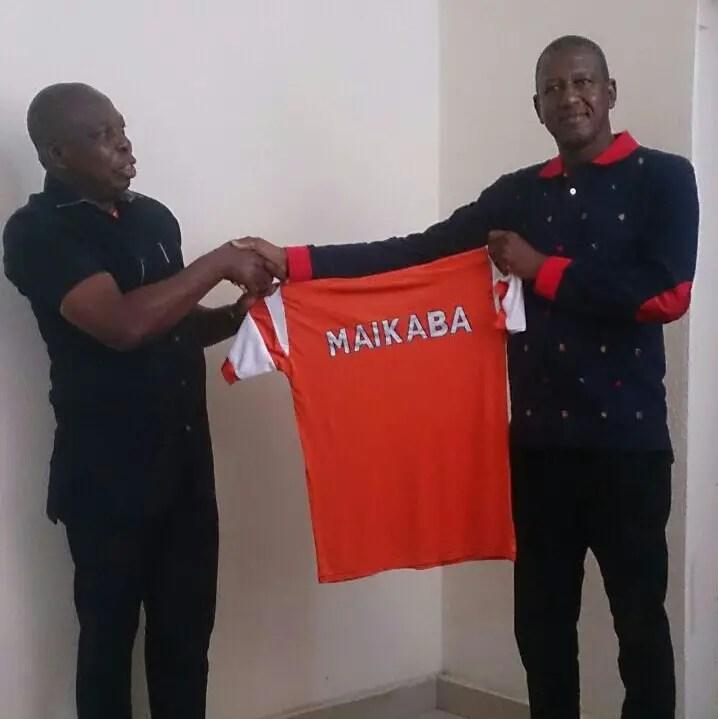 Akwa United Unveil Maikaba As New Coach