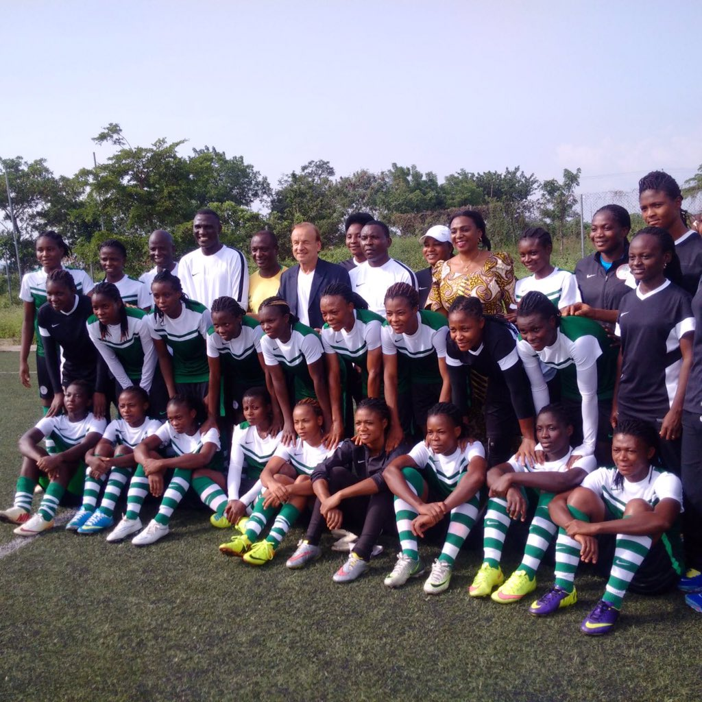 Falconets Lose To Falcons, Leave For U-20 World CupSunday