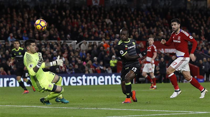 Moses Named Best Player In Chelsea Victory Over Boro