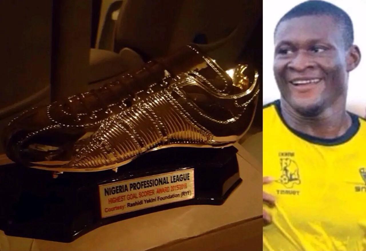 ObajeTo Receive The 2ndRashidiYekiniTop Scorer Award At Gold CupTourney