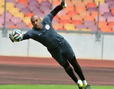 BREAKING: Ikeme Ruled Out Of Nigeria Vs Algeria!