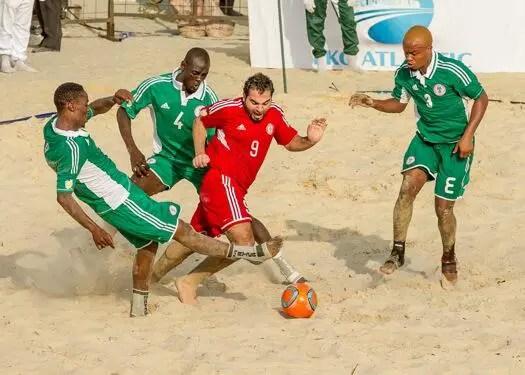 Beach Soccer AFCON: How Super Sand Eagles Have Fared So Far