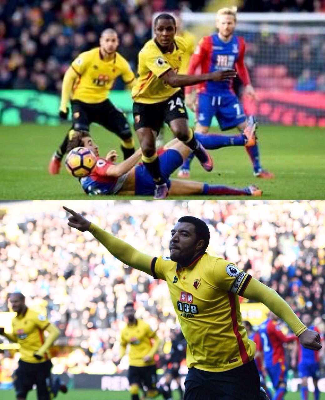 Ighalo Fires Blanks As Deeney's 100th Goal Saves Watford Vs Palace