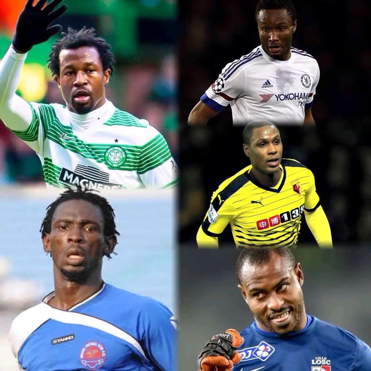 Football: Top 5 NIgerian Flops  In 2016