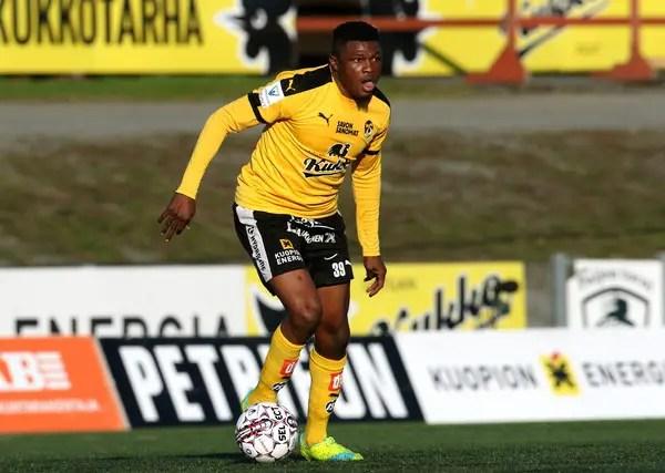 Salami Sent Off In KuPS Cup Defeat