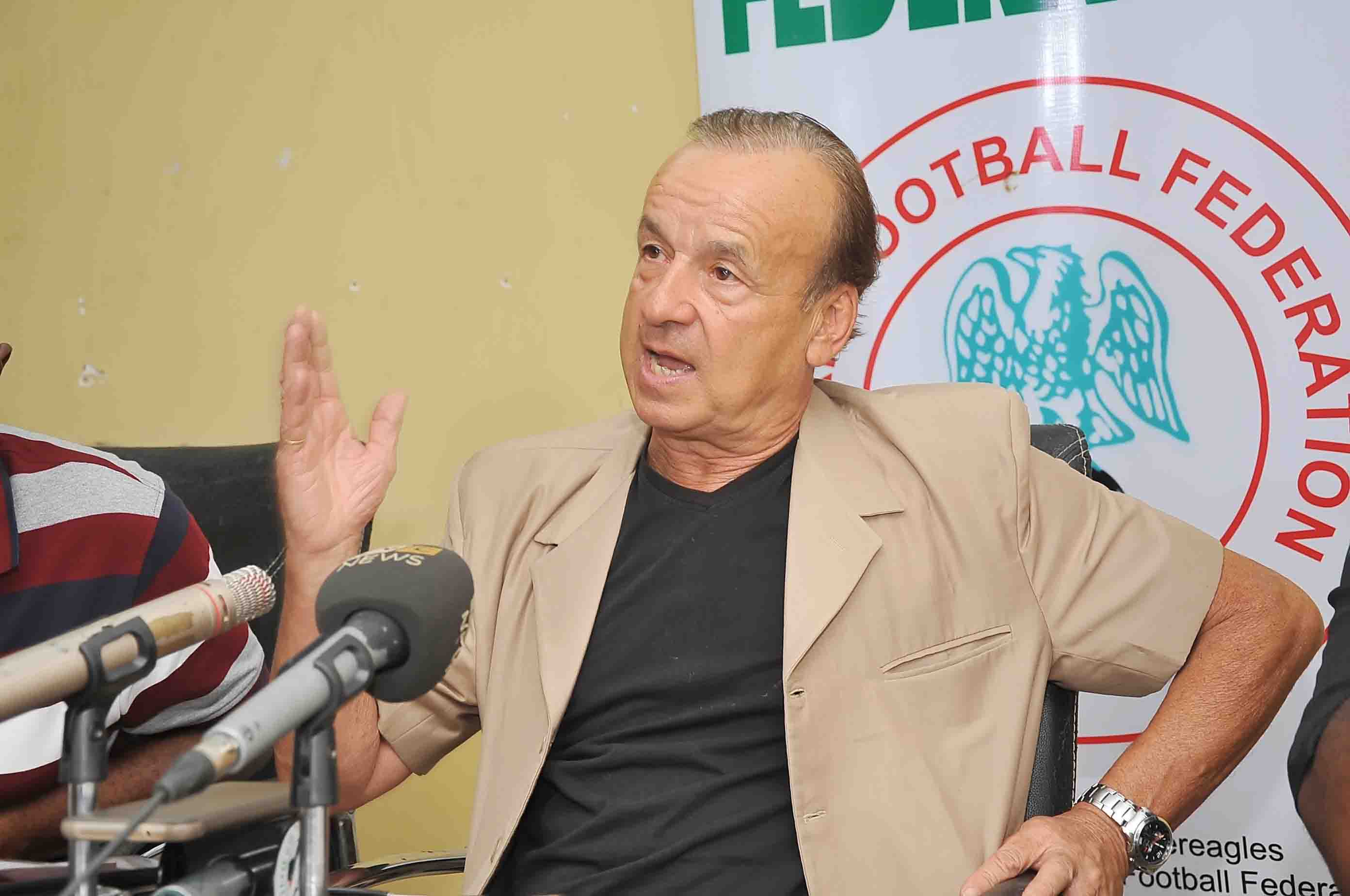 Rohr: Coaching Agali Made Me Respect Nigerian Players