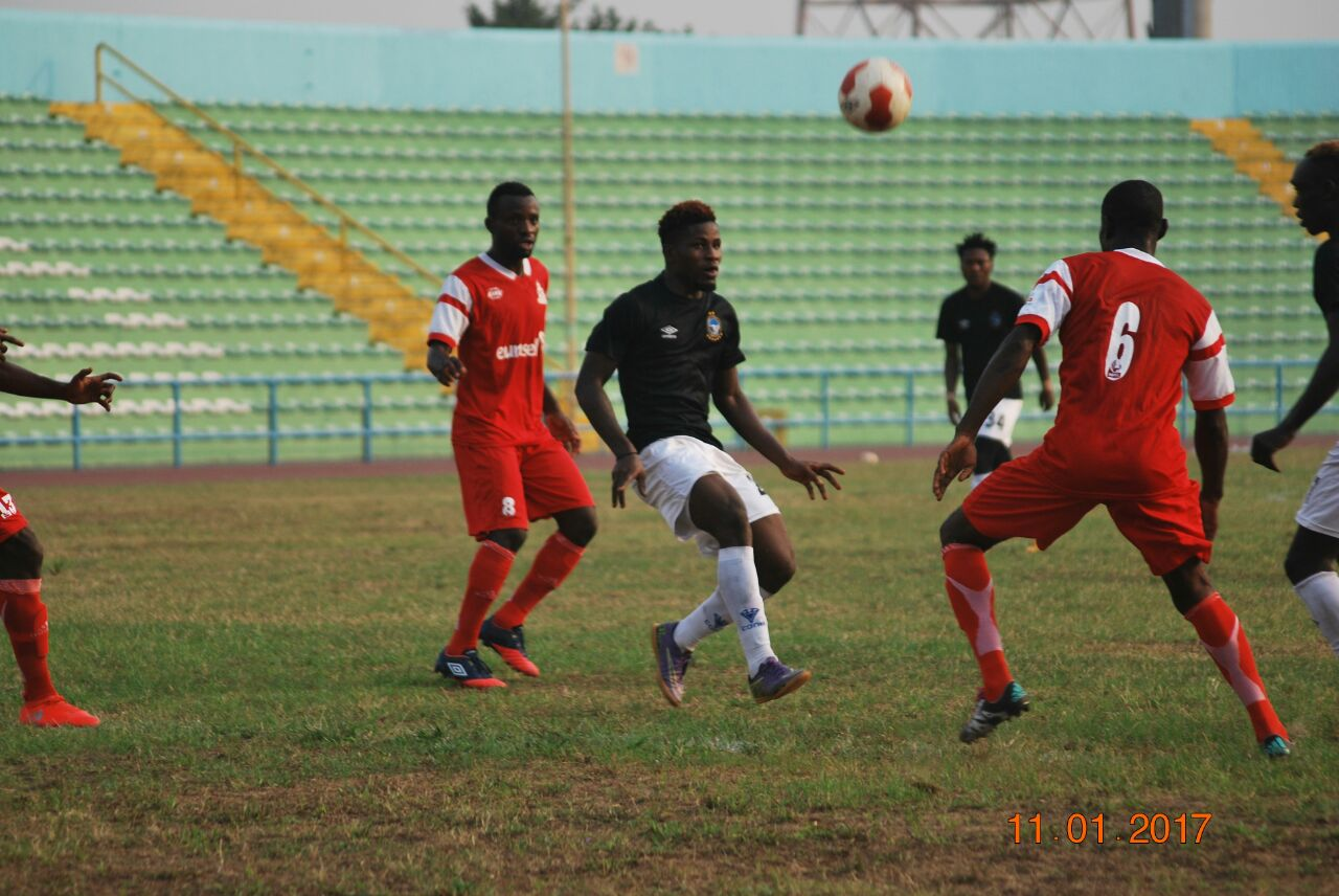 Enyimba's Ojo: We'll Build On Friendly Draw With Rivers United