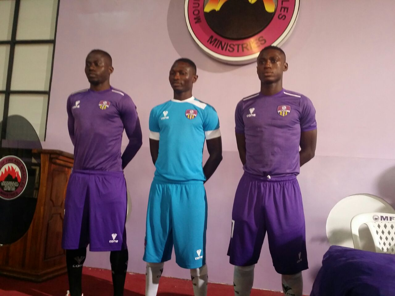 MFM Unveil CONE Jerseys For 2016/2017 NPFL Season