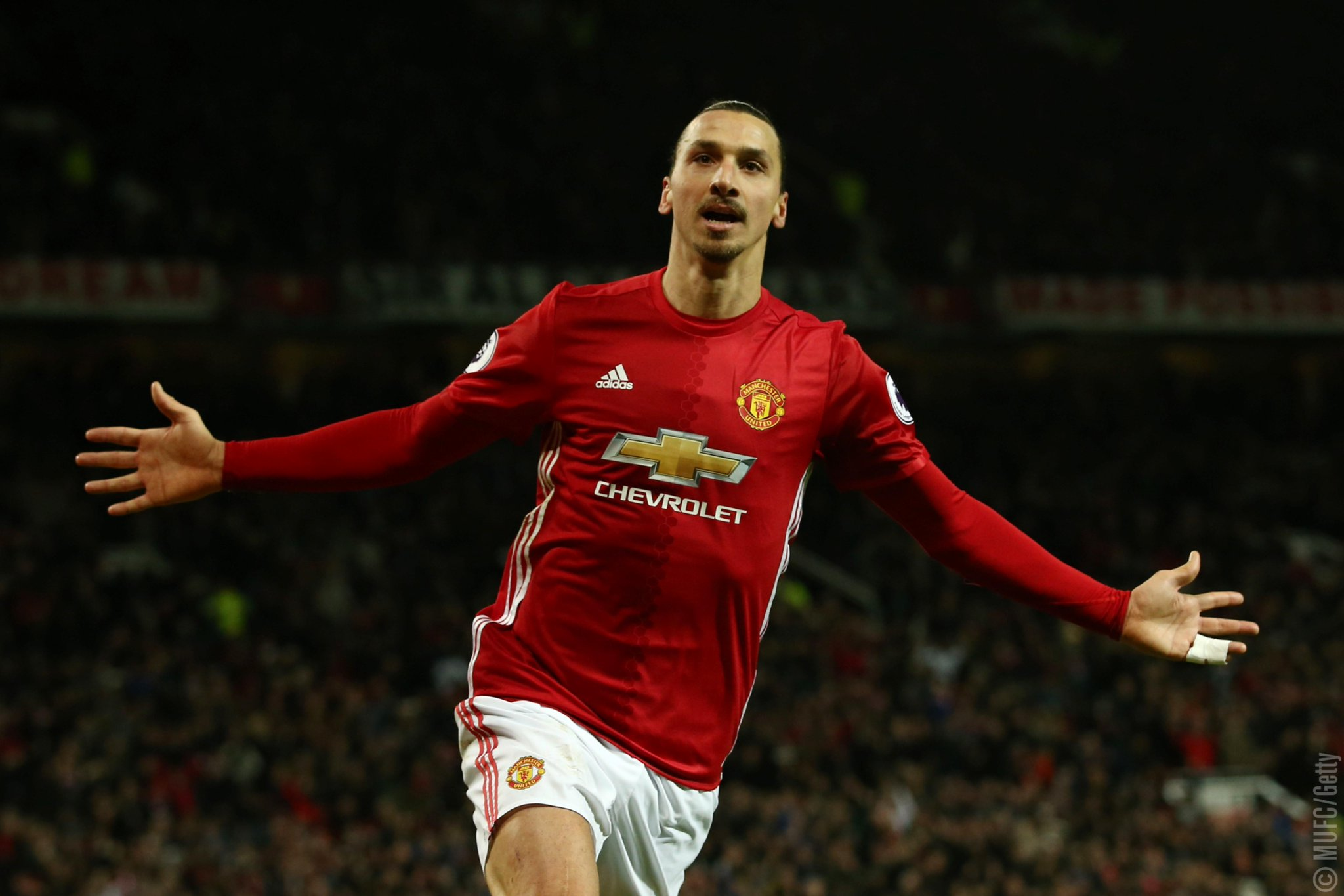 Zlatan Named EPL December Player Of The Month