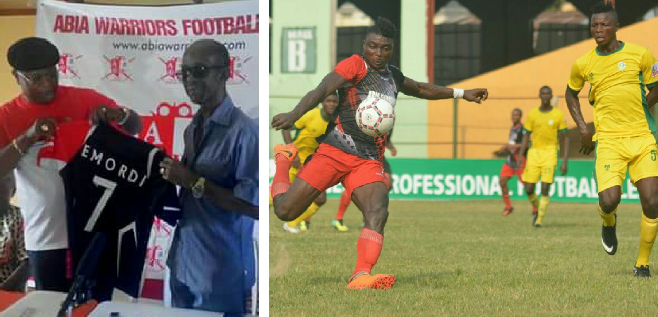 Emordi: Abia Warriors Keen To Maintain Unbeaten Run Against Remo Stars