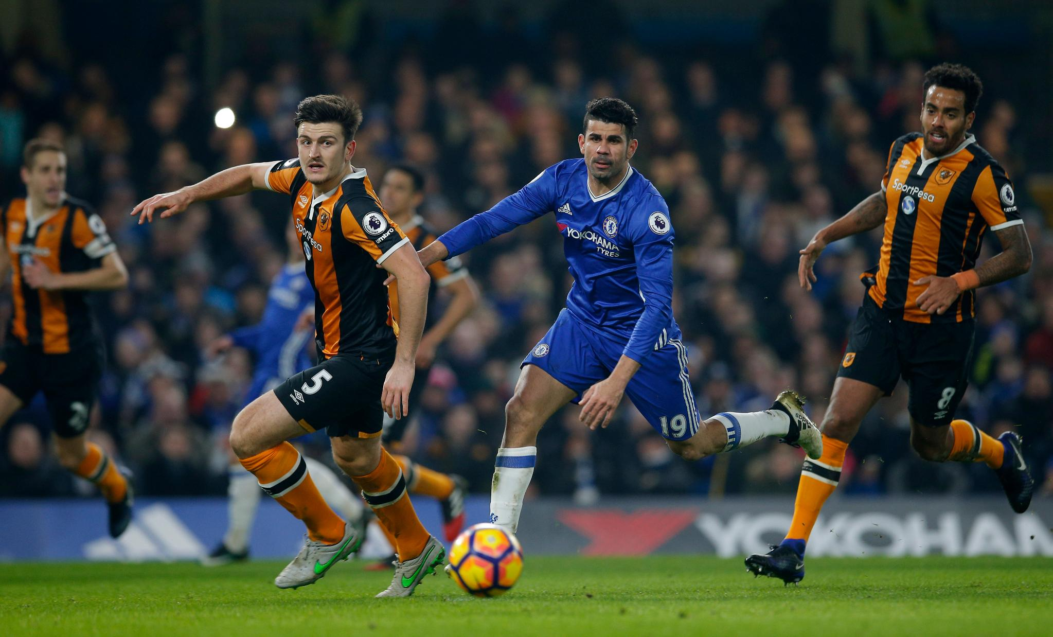 Moses Stars As Costa, Cahill Fire Chelsea Past Hull