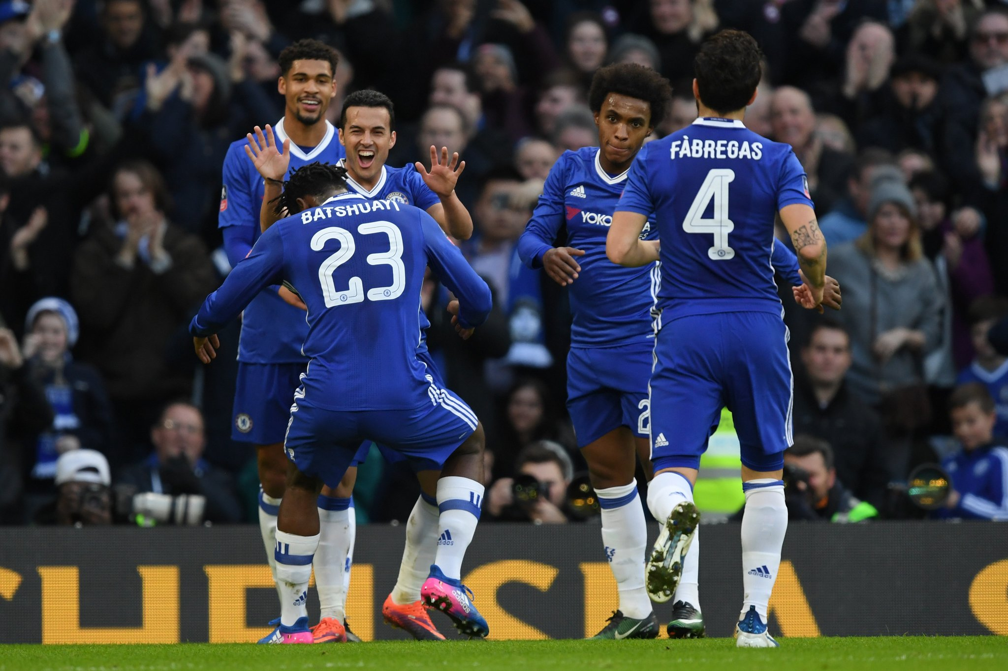 FA Cup: Moses Benched, Iheanacho Dropped As Chelsea, City, Spurs Win