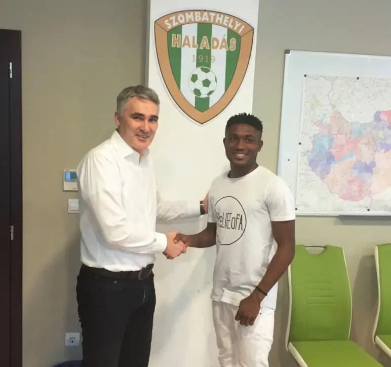 Bamgboye: I Want Breakthrough At Haladas, Big European Club My Target