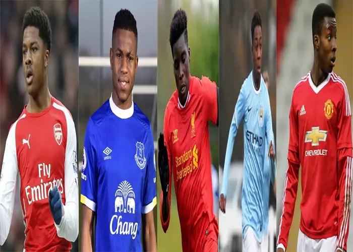11 English Eagles! Top Nigerian Born Youngsters Super Eagles Coach Shouldn't Miss