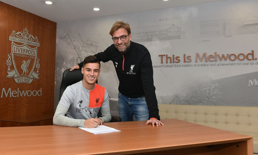 "Countinho: ""Great Honour"" To Sign New Long-Term Liverpool Deal"