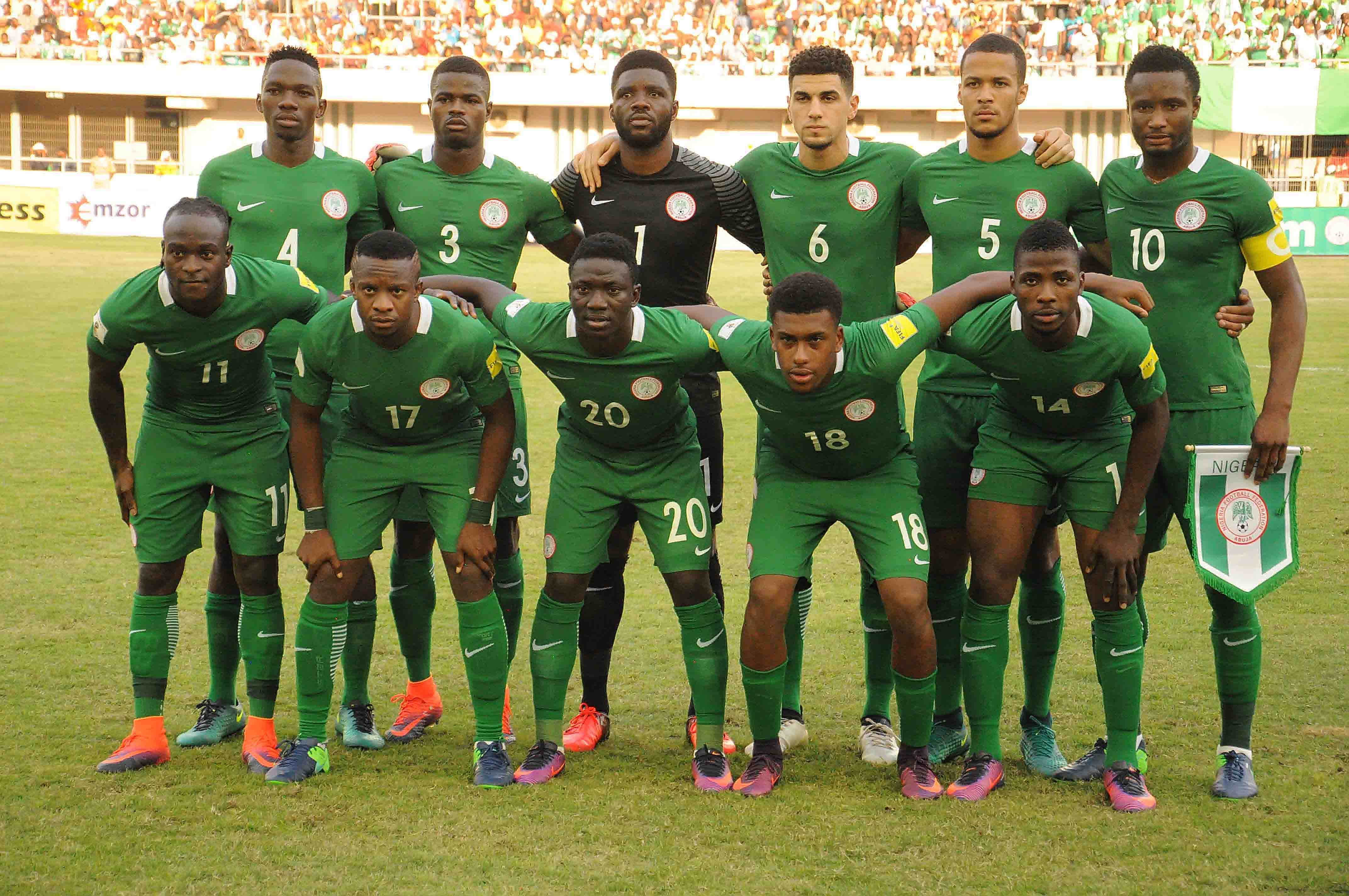 FIFA World Ranking: NFF Targets Top 10 Before Russia 2018