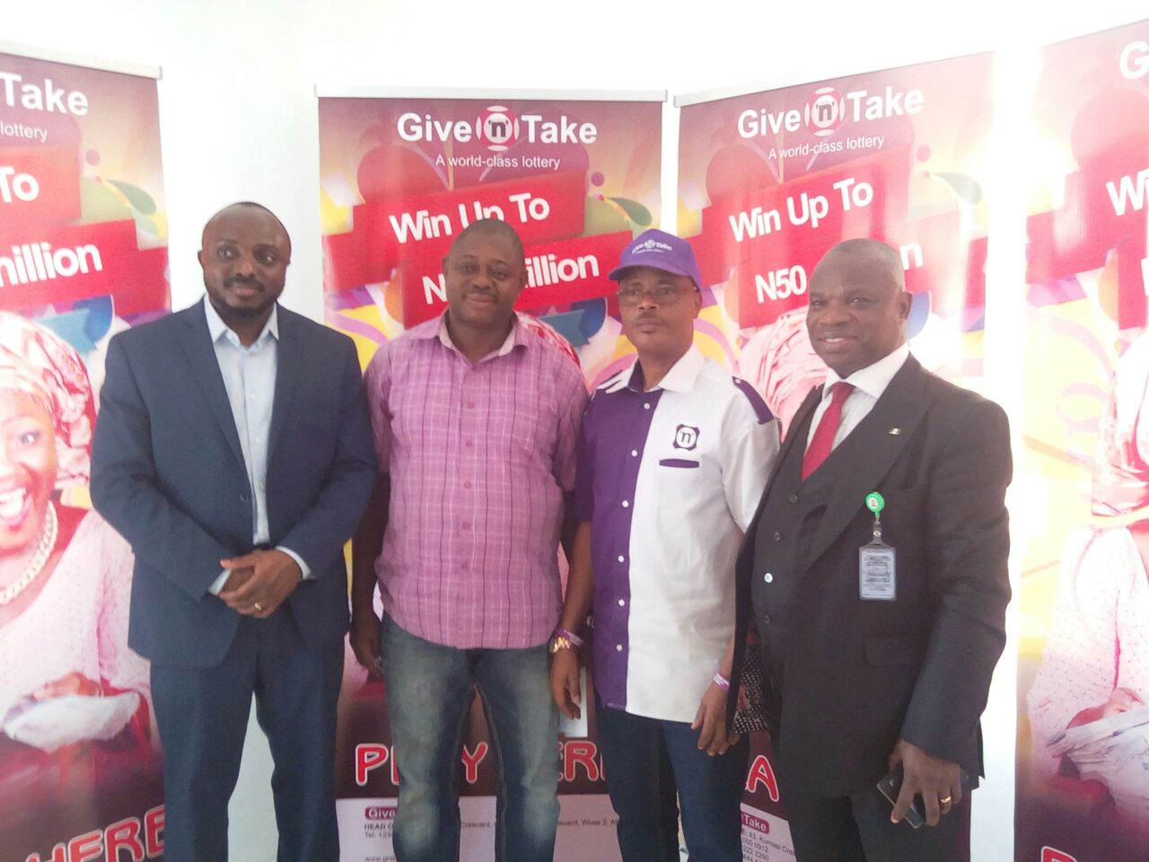 Give 'N' Take Lottery Launched In Lagos, Set For National Jackpot